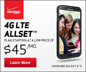 New 4G LTE Prepaid Allset Plan - No Annual Contract!