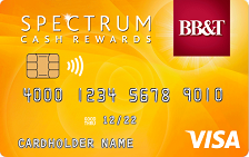 BB&T Spectrum Cash Rewards Secured Credit Card