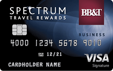 BB&T Spectrum Travel Rewards for Business Credit Card