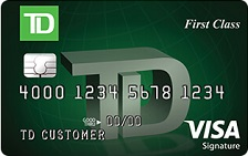 TD First Class℠ Visa Signature® Credit Card