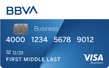 BBVA Visa® Business Rewards Credit Card