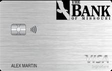 The Bank of Missouri Visa® Platinum Card