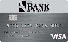 Bank of Missouri Visa® College Real Rewards Card