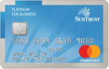 SunTrust Mastercard Non Profit Business Credit Card
