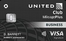 United Club Business Card