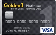 Golden 1 Platinum Rewards Visa® Card