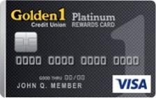 Golden 1 Platinum Rewards for Students Visa® Card