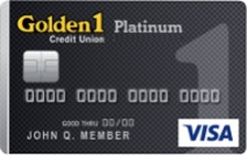 Golden 1 Platinum Secured Visa® Card