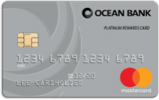 Ocean Bank Platinum Rewards Card