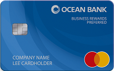 Ocean Bank Business Rewards Preferred Credit Card