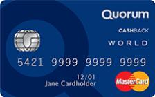 Quorum Cash Back World Mastercard®