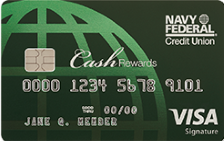 Navy Federal cashRewards World Mastercard®