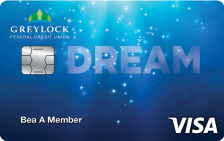 Greylock Federal Credit Union Dream Signature Rewards Card