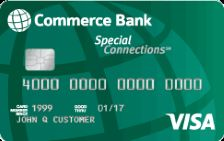 Commerce Bank Special Connections® Visa