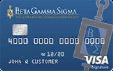 Beta Gamma Sigma Rewards Visa®