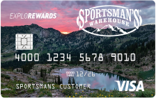 Sportsman's Warehouse Explorewards Visa®