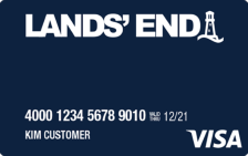 Lands' End® Visa®