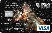 NASA FCU Visa Platinum Cash Rewards