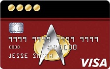 NASA FCU Visa Star Trek™ Credit Card