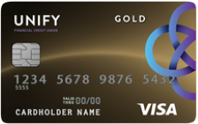 UNIFY Fixed-Rate Visa® Gold Credit Card