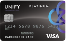UNIFY Fixed-Rate Visa® Platinum Credit Card