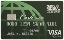 Navy Federal cashRewards Visa Signature® Credit Card