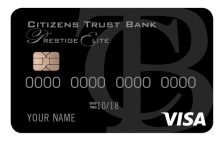 Citizens Trust Bank VISA Prestige Elite Credit Card