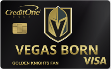 Vegas Golden Knights Credit Card