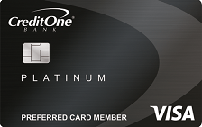 Credit One Platinum Visa