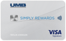 UMB Simply Rewards Visa® Credit Card