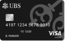 UBS Visa Infinite Credit Card