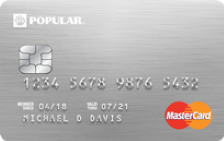 Popular Bank Rewards Card