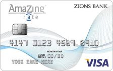 Zions Bank AmaZing Low Rate Credit Card