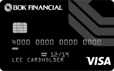BOK Financial Secured Visa® Card