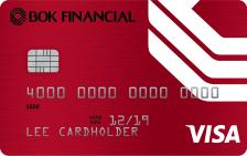 BOK Financial Visa Signature® College Real Rewards Card