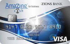 Zions Bank AmaZing Cash for Business Credit Card
