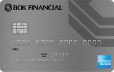 BOK Financial Cash Rewards American Express® Card