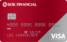 BOK Financial Visa® Business Cash Card