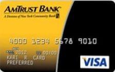 AmTrust 2% Cash Back Visa® Card