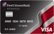 First Citizens Rewards® Visa® with No Annual Fee