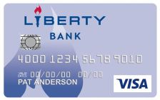 Liberty Bank Visa® Platinum Card