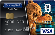 Detroit Tigers Visa® Platinum Card