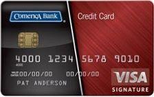 Comerica Visa® Real Rewards Card