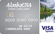 Alaska USA Visa Credit Card