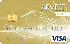 Arvest Bank Visa® Gold Card