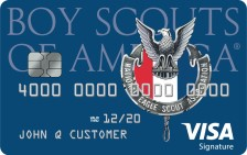 Eagle Scout Visa Rewards Credit Card