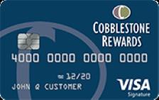 Cobblestone Rewards Visa Signature®
