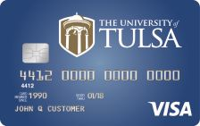 Tulsa Alumni Rewards Visa® Card