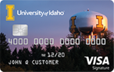 University of Idaho Rewards Visa®