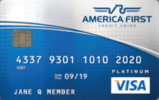 America First Credit Union Visa Platinum Credit Card